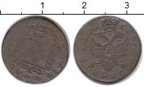 Изображение Монеты Германия Бремен 1 гротен 1744 Серебро VF