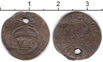 Изображение Монеты Европа Германия 6 пфеннигов 1753 Серебро VF