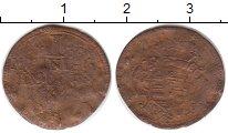 Изображение Монеты Германия Саксония 1 геллер 0 Медь F