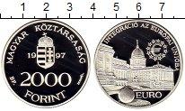 Изображение Монеты Европа Венгрия 2000 форинтов 1997 Серебро Proof