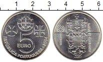 Изображение Монеты Европа Португалия 5 евро 2004 Серебро UNC-