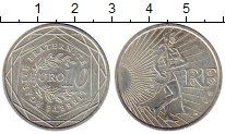 Изображение Монеты Европа Франция 10 евро 2009 Серебро UNC-