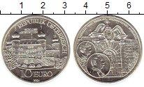 Изображение Монеты Австрия 10 евро 2004 Серебро UNC