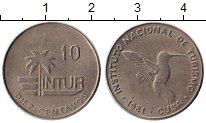 Изображение Монеты Куба 10 сентаво 1981 Медно-никель XF Интур, Птица