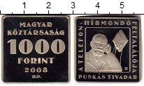 Изображение Монеты Венгрия 1000 форинтов 2008 Медно-никель Proof