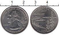 Изображение Мелочь США 1/4 доллара 2005 Медно-никель UNC- D. Орегон 1859