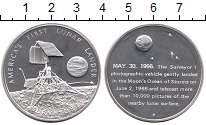 Изображение Монеты США Медаль 1966 Серебро UNC