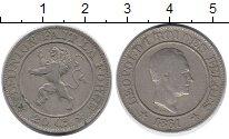 Изображение Монеты Бельгия 20 сантим 1861 Медно-никель XF