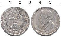 Изображение Монеты Африка ЮАР 2 шиллинга 1896 Серебро XF