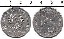 Изображение Монеты Европа Польша 100 злотых 1988 Медно-никель UNC-