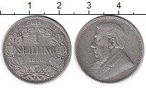 Изображение Монеты Африка ЮАР 1 шиллинг 1896 Серебро VF