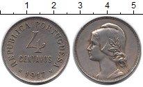 Изображение Монеты Европа Португалия 4 сентаво 1917 Медно-никель XF+