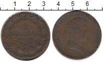 Изображение Монеты Европа Швеция 2 скиллинга 1835 Медь VF