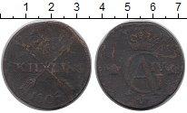 Изображение Монеты Европа Швеция 1 скиллинг 1805 Медь VF