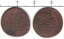Изображение Монеты Германия Саксен-Кобург-Саалфелд 1 геллер 1740 Медь VF