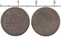 Изображение Монеты Германия Мекленбург-Шверин 1 шиллинг 0 Серебро VF