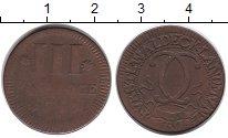 Изображение Монеты Германия Вальдек-Пирмонт 3 пфеннига 0 Медь VF