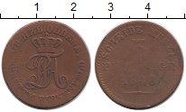 Изображение Монеты Германия Ольденбург 3 пфеннига 1848 Медь VF