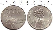 Изображение Монеты Венгрия 2000 форинтов 2014 Медно-никель UNC-
