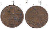 Изображение Монеты Европа Португалия 10 сентаво 1946 Бронза XF