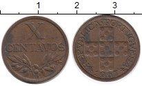 Изображение Монеты Европа Португалия 10 сентаво 1967 Бронза XF