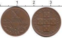Изображение Монеты Европа Португалия 10 сентаво 1965 Бронза XF