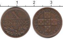 Изображение Монеты Европа Португалия 10 сентаво 1968 Бронза XF