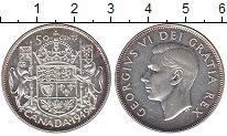 Изображение Монеты Северная Америка Канада 50 центов 1949 Серебро Proof-
