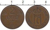 Изображение Монеты Норвегия 2 эре 1911 Медь XF