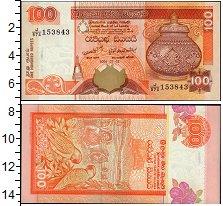 Изображение Банкноты Азия Шри-Ланка 100 рупий 2006  UNC