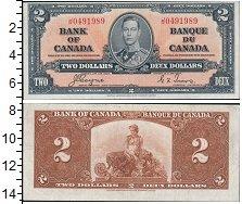 Изображение Банкноты Северная Америка Канада 2 доллара 1937  XF