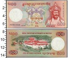 Изображение Банкноты Азия Бутан 500 нгултрум 2006  UNC