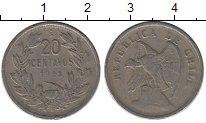 Изображение Монеты Южная Америка Чили 20 сентаво 1923 Медно-никель XF-