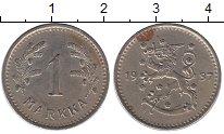 Изображение Монеты Финляндия 1 марка 1937 Медно-никель XF