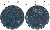 Изображение Монеты Италия 100 лир 1979 Медно-никель UNC-