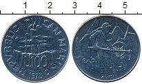 Изображение Монеты Европа Сан-Марино 100 лир 1978 Медно-никель UNC-
