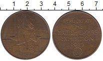 Изображение Монеты Европа Великобритания Медаль 1925 Бронза XF+