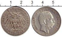 Изображение Монеты Германия Саксония 2 марки 1899 Серебро XF