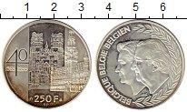 Изображение Монеты Европа Бельгия 250 франков 1999 Серебро UNC-