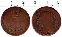 Изображение Монеты Европа Франция 1/2 соля 0 Медь VF