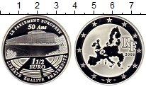 Изображение Монеты Европа Франция 1 1/2 евро 2008 Серебро Proof