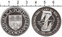Изображение Монеты Европа Португалия 100 эскудо 1988 Серебро Proof-
