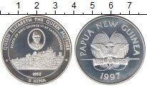 Изображение Монеты Австралия и Океания Папуа-Новая Гвинея 5 кин 1997 Серебро Proof-