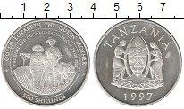 Изображение Монеты Танзания 500 шиллингов 1997 Серебро Proof-