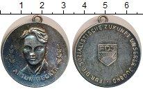 Изображение Монеты ГДР Медаль 0 Посеребрение UNC-