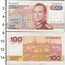 Изображение Банкноты Европа Люксембург 100 франков 1980  UNC