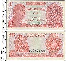 Изображение Банкноты Индонезия 1 рупия 1968  UNC