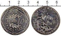 Изображение Монеты Европа Франция 10 евро 2016 Серебро UNC-
