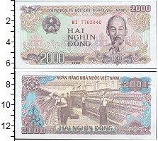 Изображение Банкноты Азия Вьетнам 2000 донг 1988  UNC