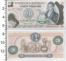 Изображение Банкноты Колумбия 20 песо 1983  UNC